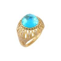 14K Asmina Gold Renkli Taşlı Yüzükler